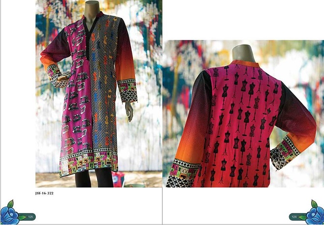 Junaid Jamshed Funky Digital Shirt Summer Collection