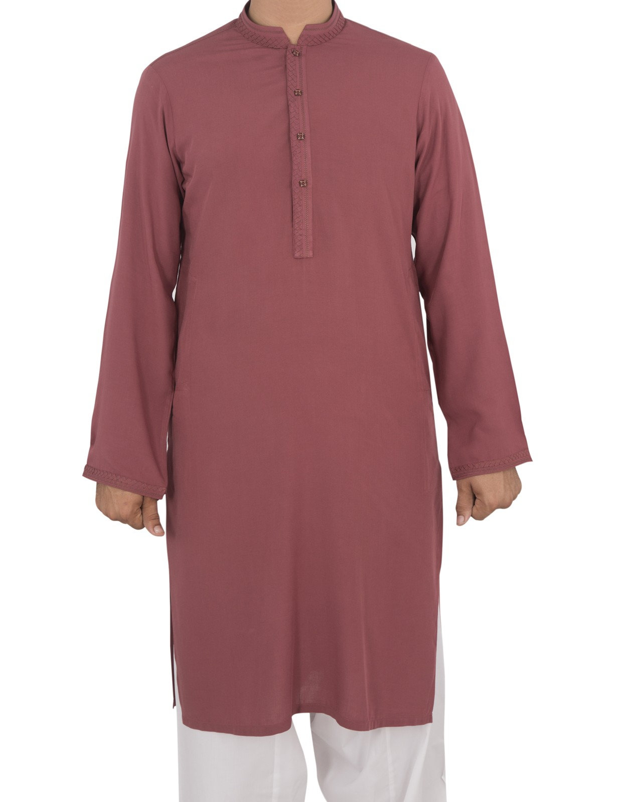 Brown Color Men Eid Wear Kurta By Cambridge
