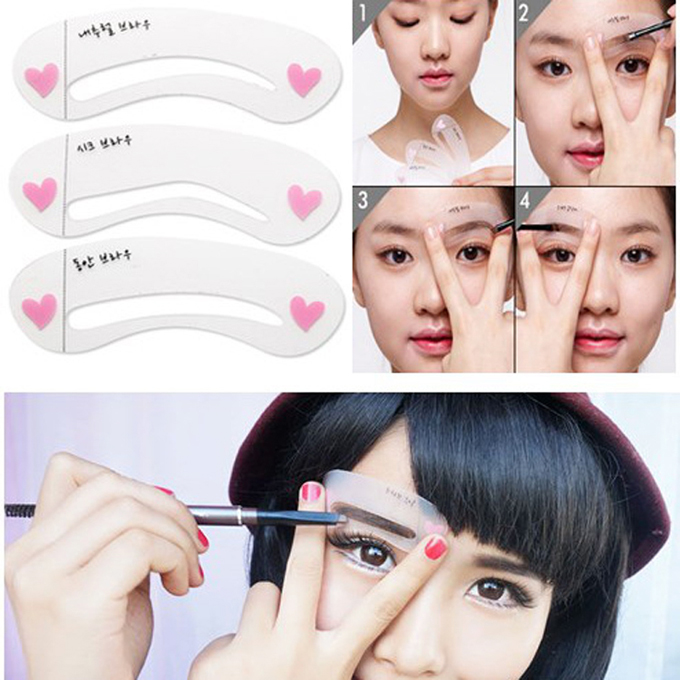 Draw the Shape of the Eyebrows