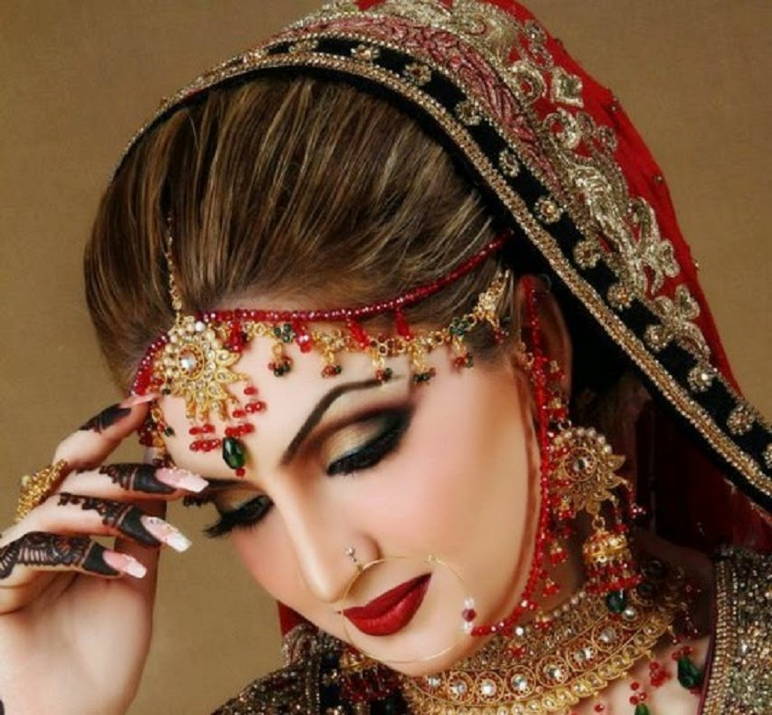 Pakistani Bridal Makeup Ideas 7