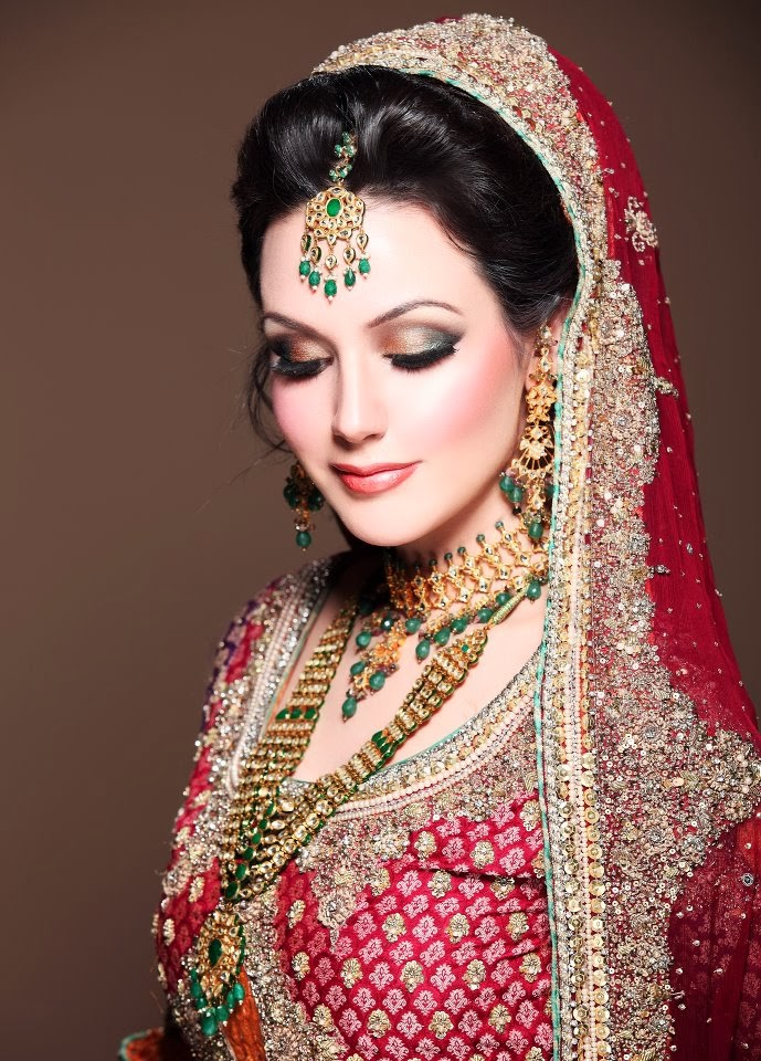 Pakistani Bridal Makeup Ideas 9