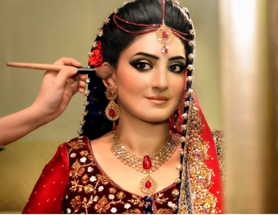 dulhan hair style best bridal makeup tutorial with steps 7922