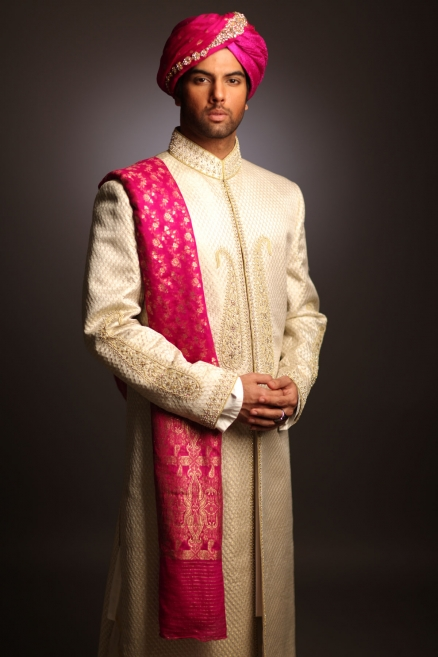 deepak perwani off white sherwani collection