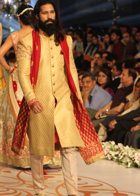 deepak perwani Lemon color  sherwani collection