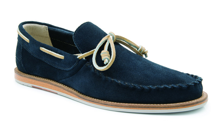 Casual dark Blue Loafers for Men