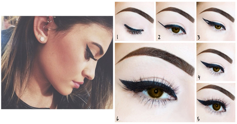5 Different Eyeliner Styles For Beginners Step By Step