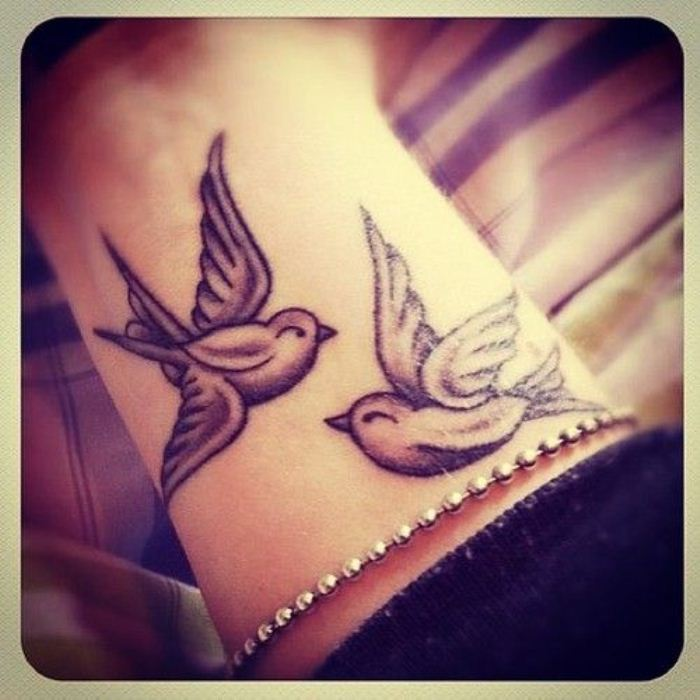 Inspiring tattoo designs for girls on wrist 28
