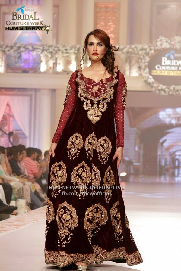 Telenor Bridal Couture Tabassum_mughal_collection 06