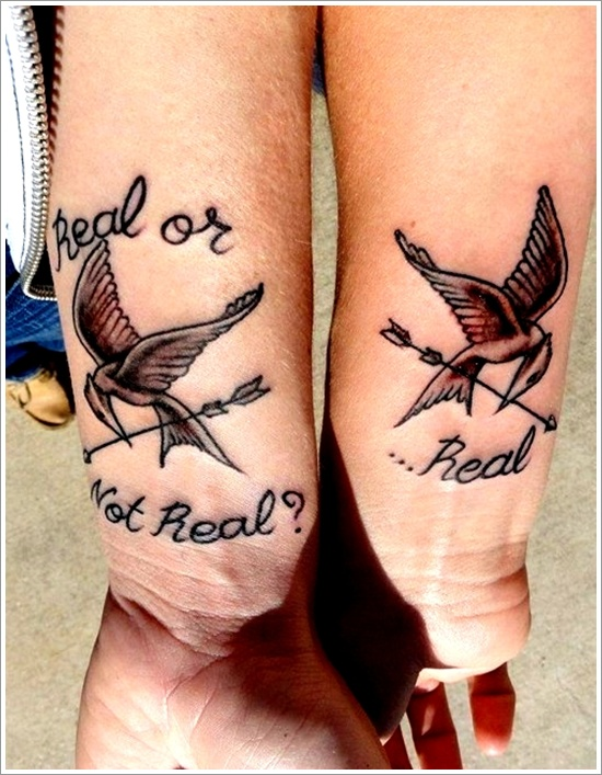 awesome tattoo design ideas for couples matching 04