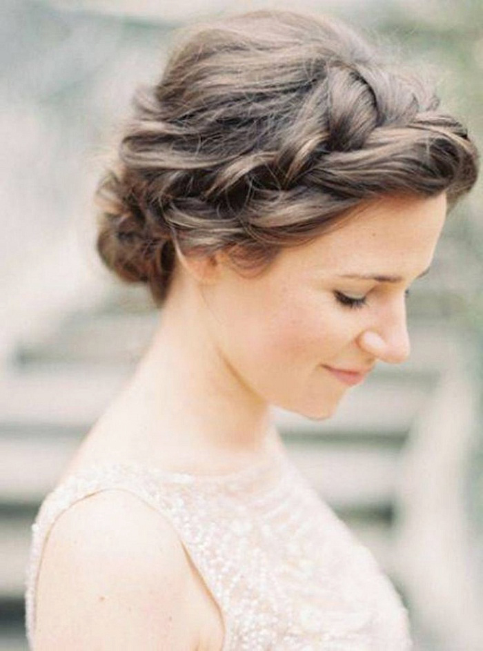 Braided Updo European Hairstyle