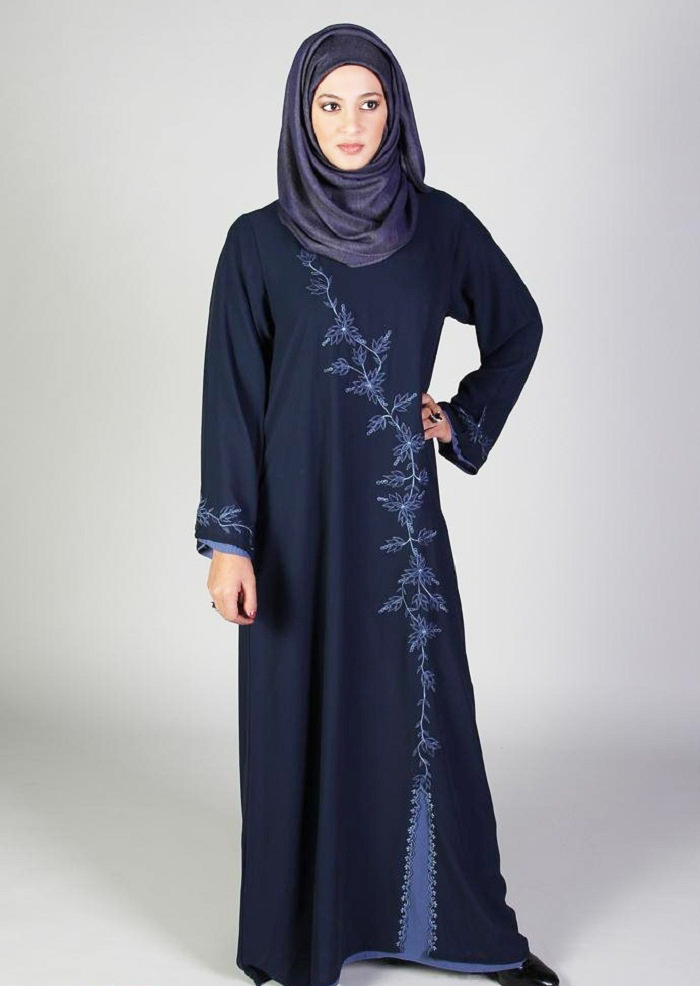 Bail Style Embroidery Designer Abayas