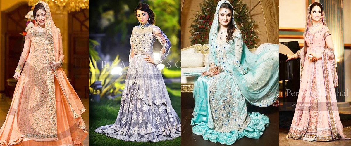 0c44450af3 Latest Bridal Walima Dresses 2019 In Pakistan | BestStylo.com
