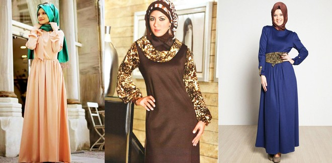 New Styles of Top Designer Abayas and Gowns Collection 2017