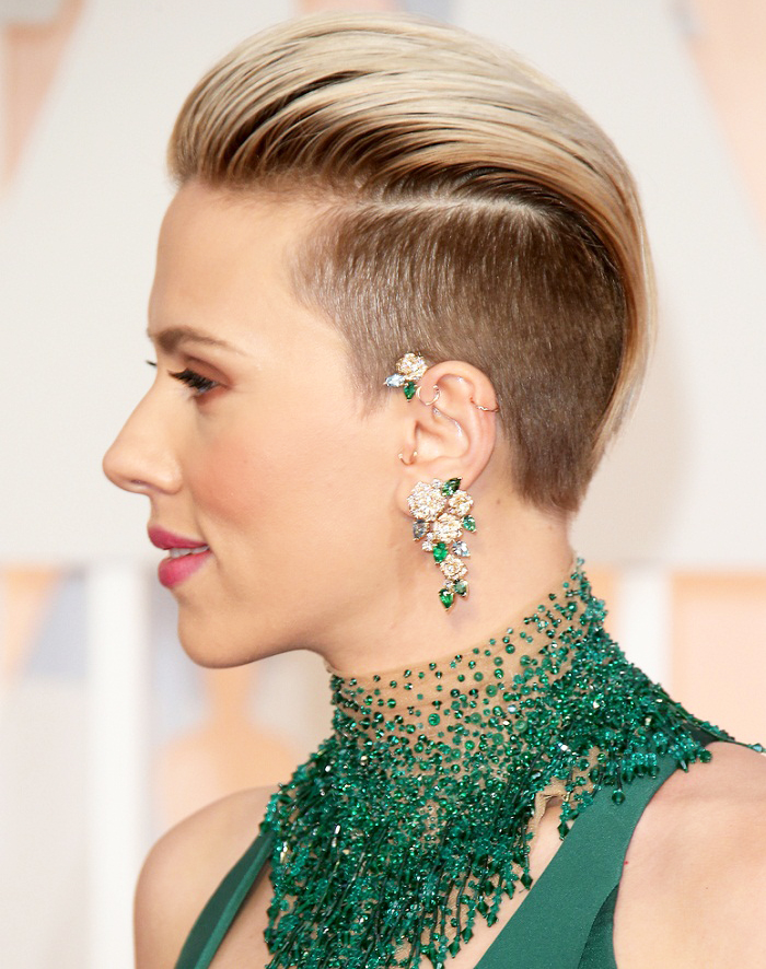 Shaved Sides European Hairstyle