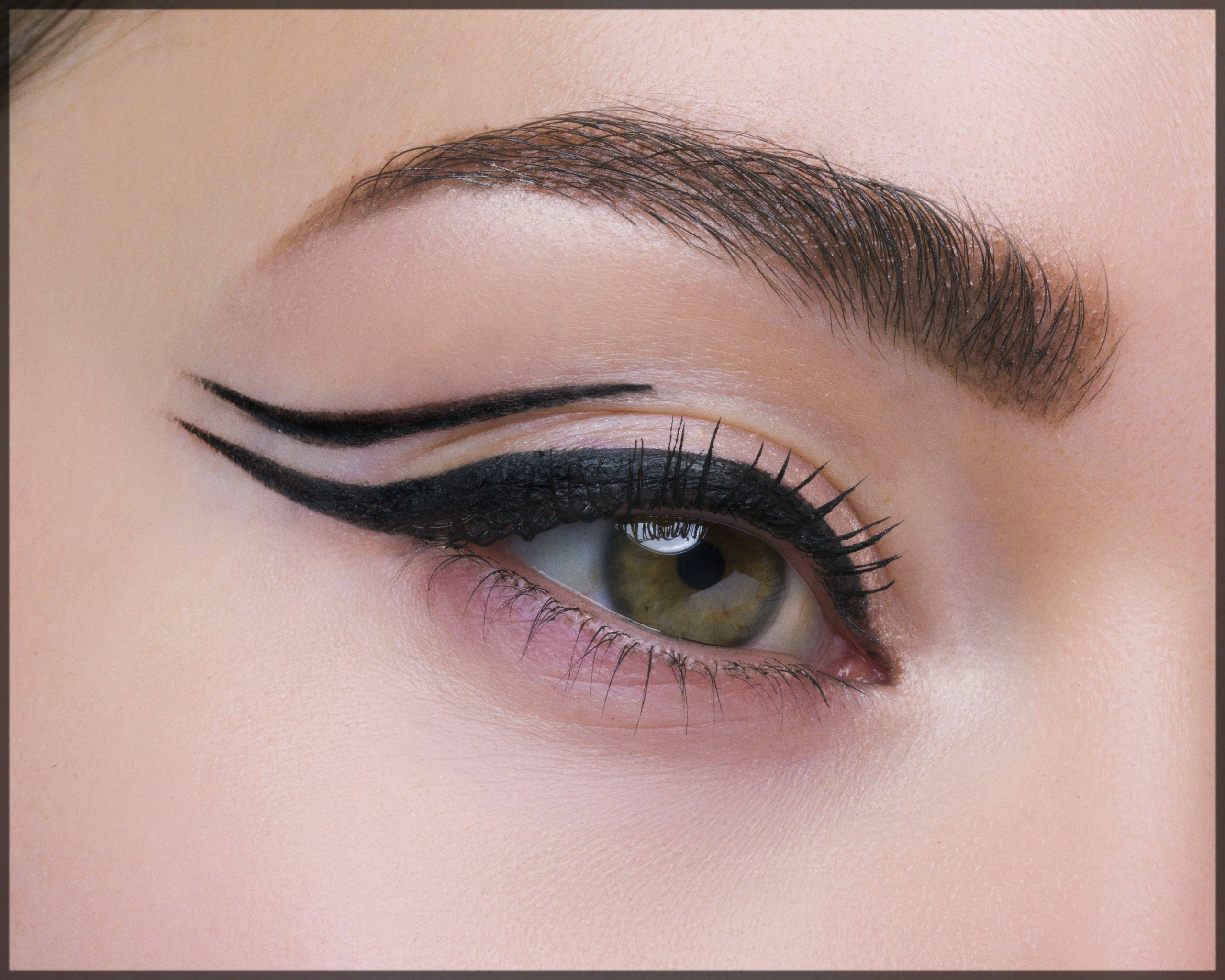 eyeliner - steps to make eyes bigger