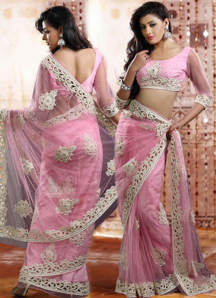 Pakistani And Indian Party Wear Sarees 2018 Beststylocom