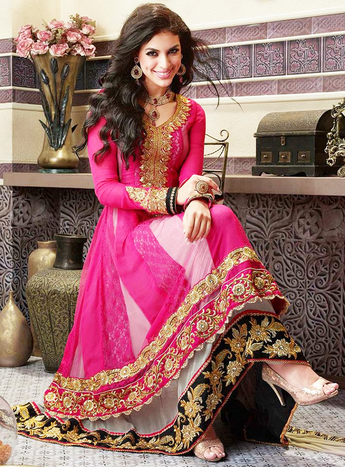 Latest Pakistani And Indian Party Dresses For Women 2018