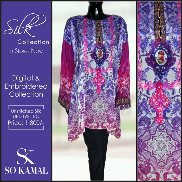 Purple Digital Embroidered Collection