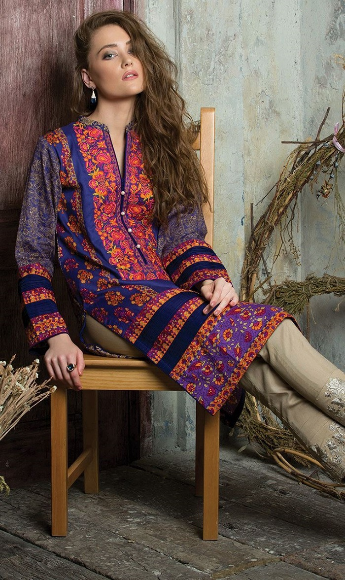 Mixed Print Orient 2-piece Winter Collection