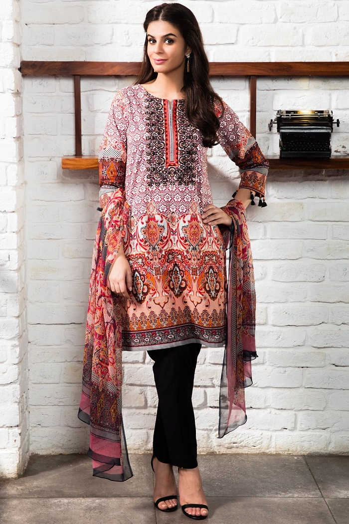 Black Embroidered Zeen 3-piece Collection