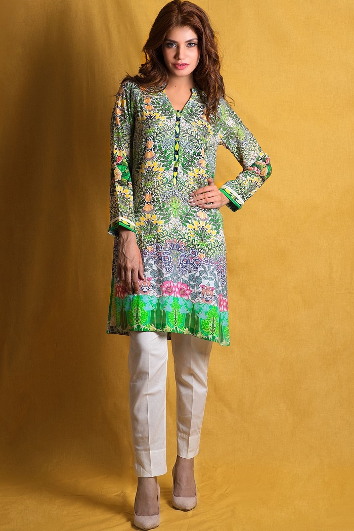 Green Stitched Zeen 1-piece Collection