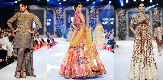 PFDC L'Oreal Paris Bridal Week 2017 Wedding Dresses By Top Designers
