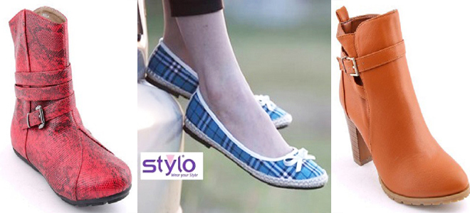 Stylo Shoes New Winter Pumps and Boots Collection For Women 2018