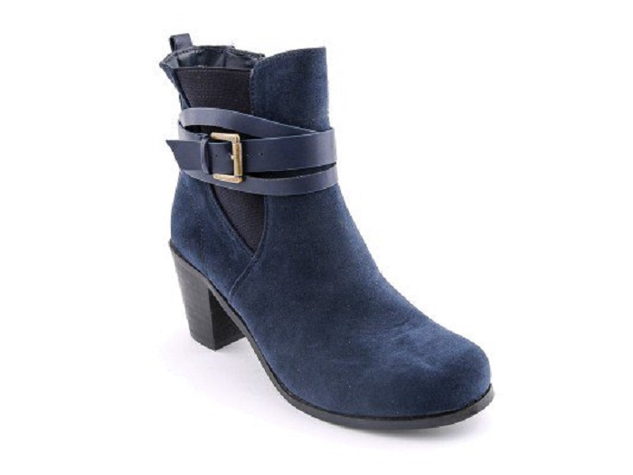 Blue Stylo Shoes New Winter Boots Collection For Women 2017