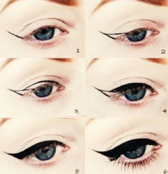 winky eye liner for party