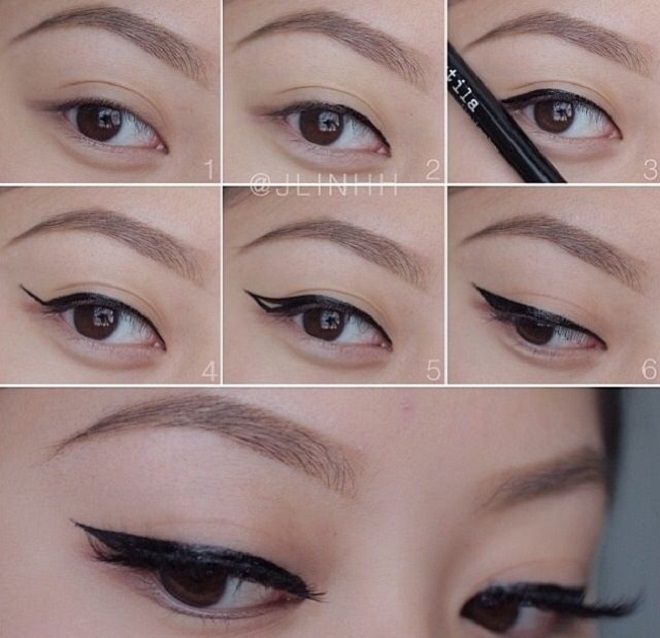 party eye makeup liner for small eyes