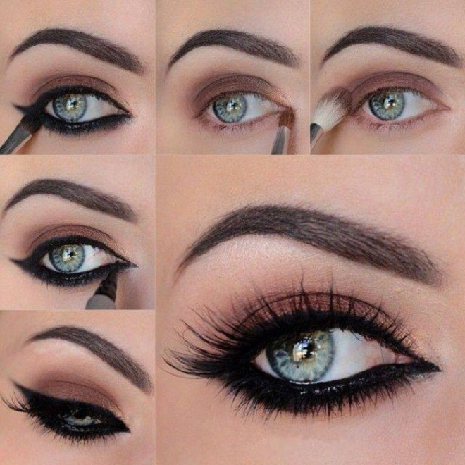 kohal kajal party eye makeup