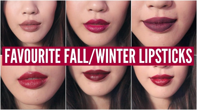 latest winter lipcolors