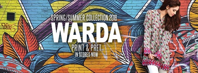 Warda Spring Summer Pret and Print Collection 2017