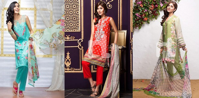 Nishat Linen Latest Eid Collection For Women 2018