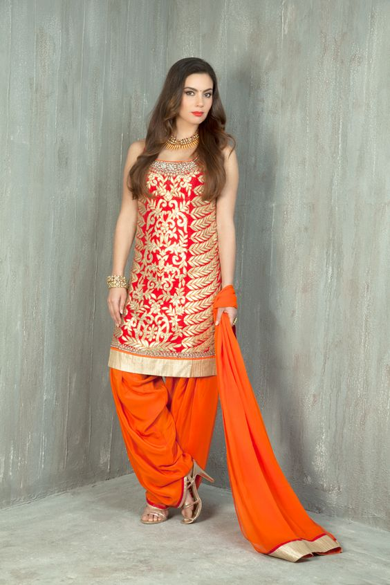 Indian Party Wear Shalwar Kameez Tilla dress