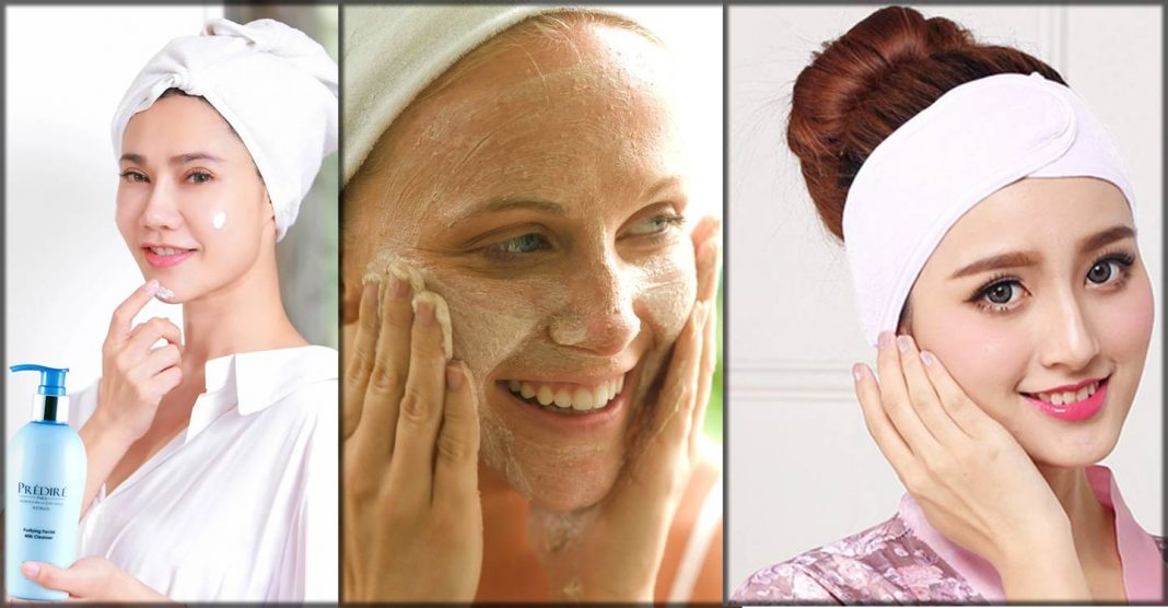 how to do skin whitening facial at home step by step tutorial