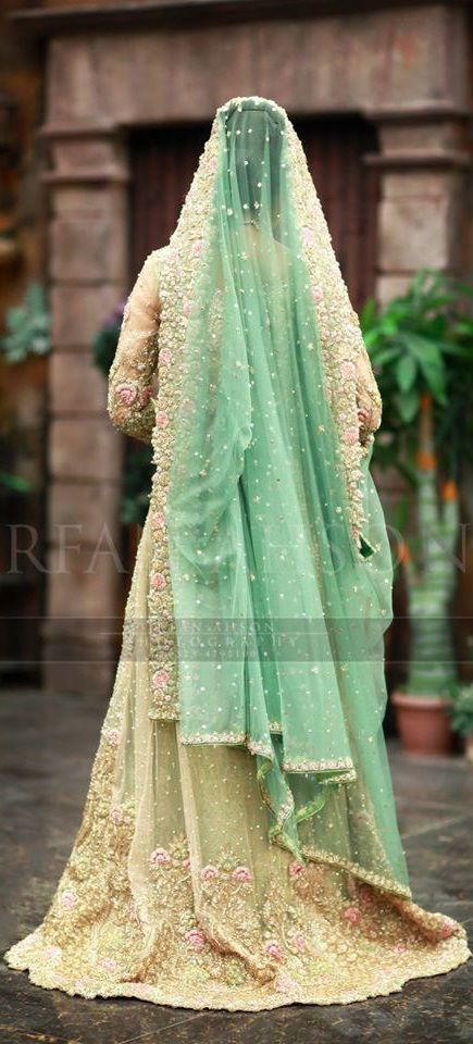Beige wedding wear gown Collection