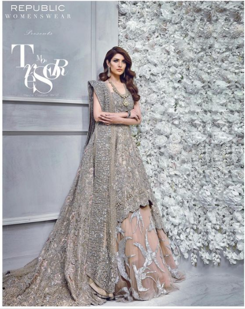 Grey Lehnga Bridal Collection