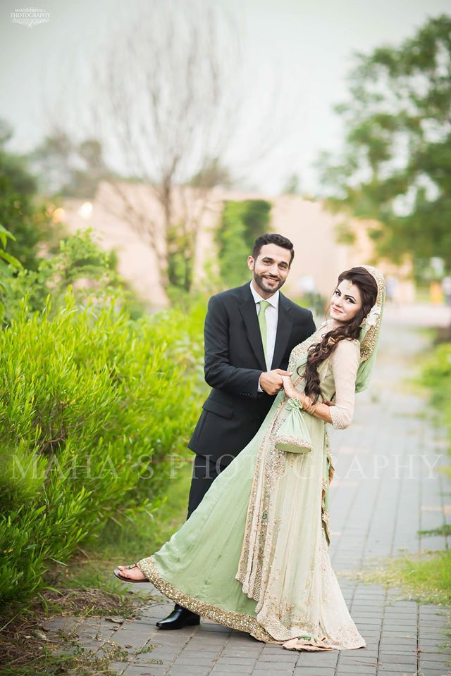 Walima Dresses for Pakistani Bride and Groom