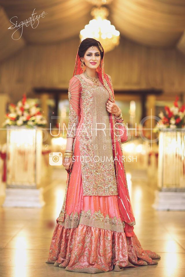 Latest Pakistani Winter Wedding Dresses 2018 Beststylo Com