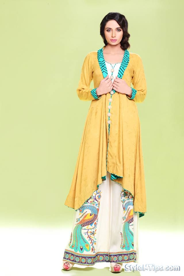 d66e305b6 Latest Pakistani Party Wear Winter Dresses 2018