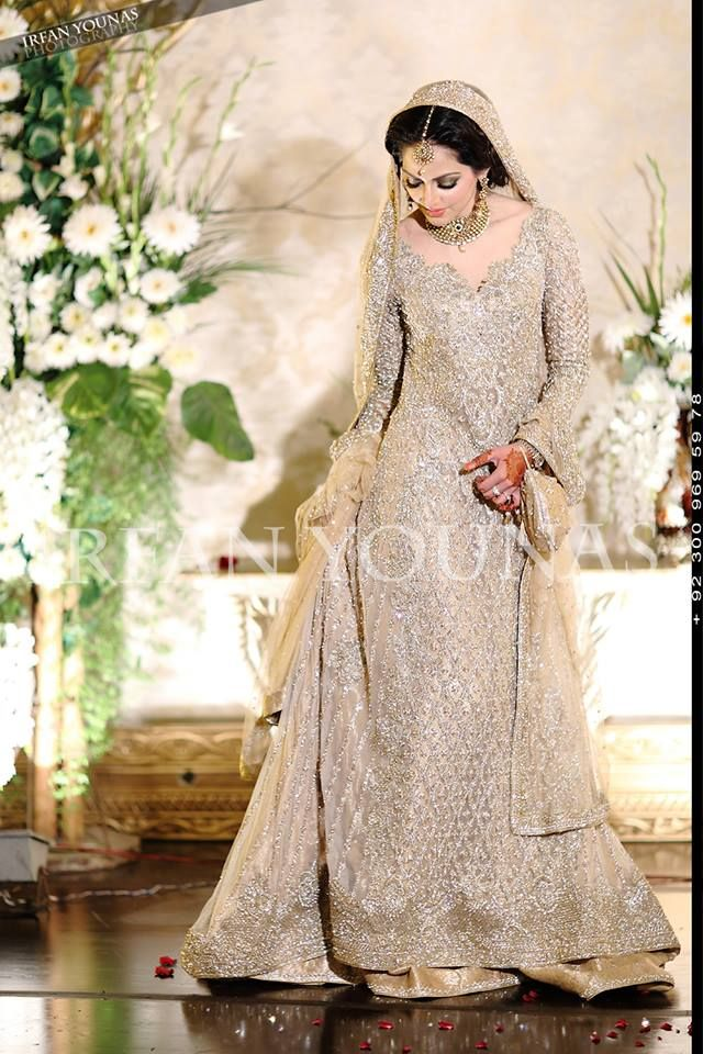 elegant winter bridal wear
