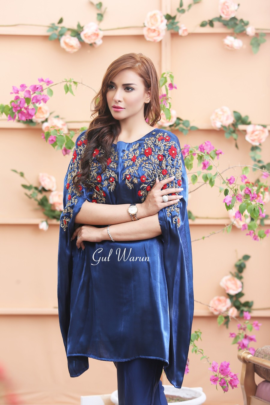 royal blue cape dess