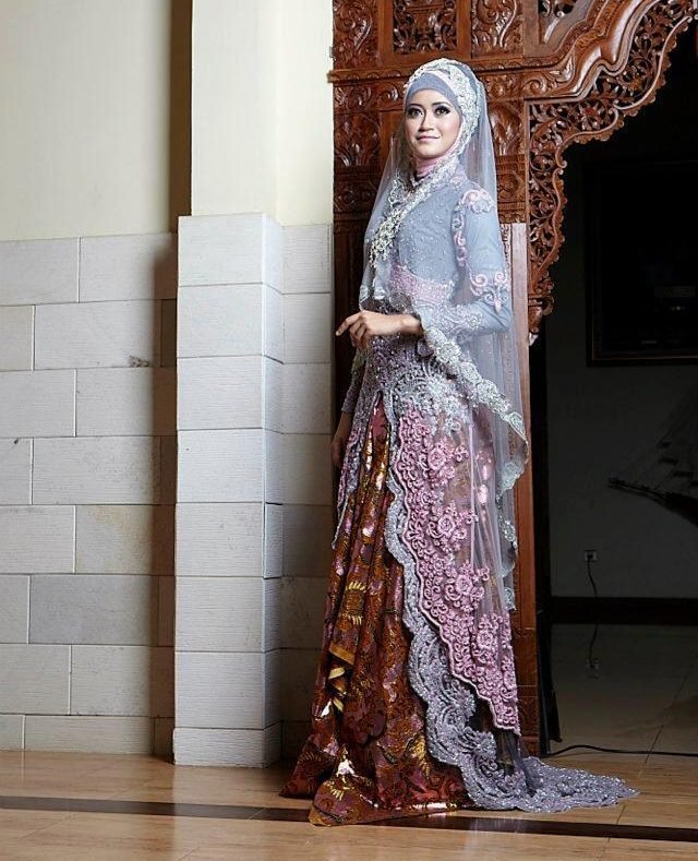 wedding abaya and hijab style for brides