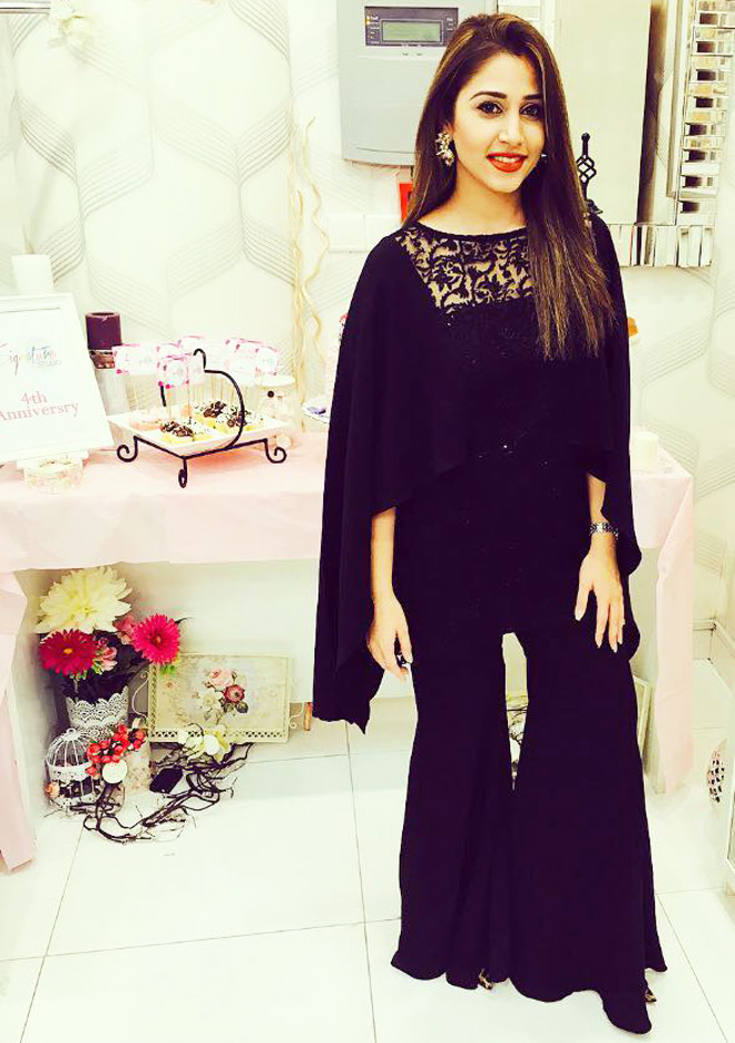 Pakistani Dresses With Bell Bottom Trouser for night parties