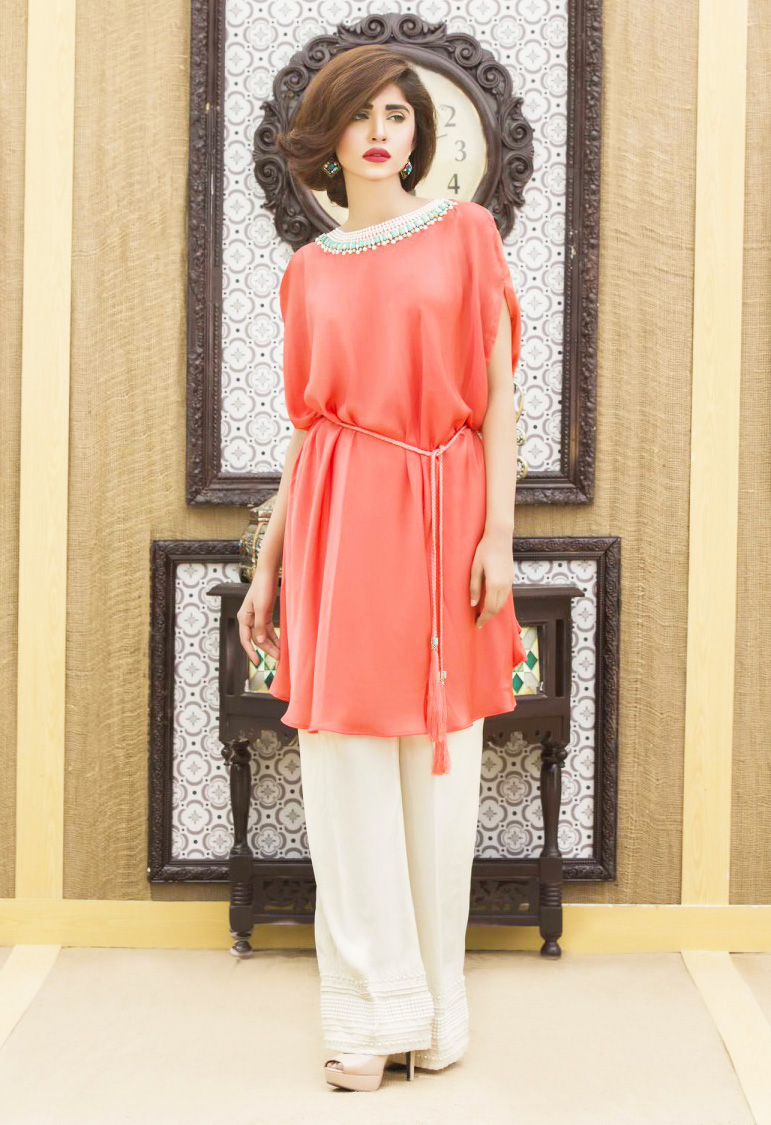 Pakistani Dresses With Bell Bottom Trouser for wedding party