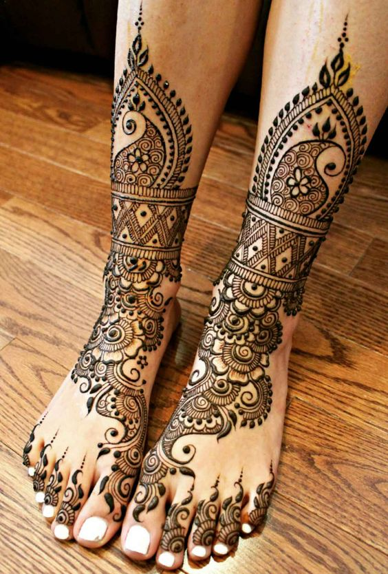 Latest Turkish Mehndi Designs 2019 For Hands And Feet