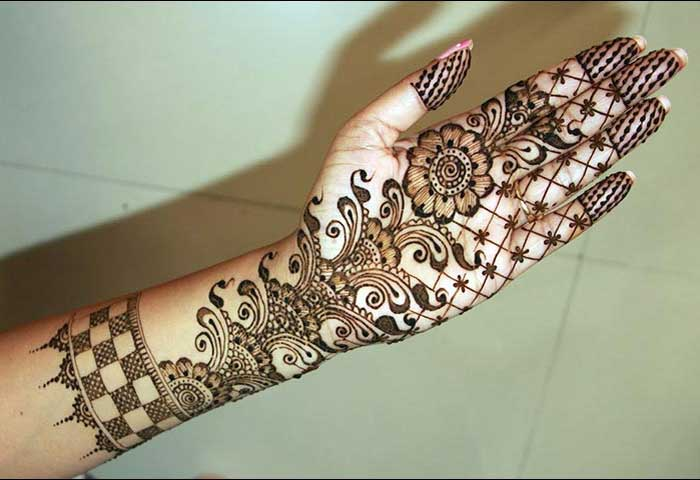 Mehndi Dizain : New floral mehndi designs for hands and feet beststylo