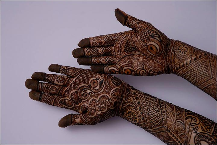 Elaborated Indian Mehndi Design