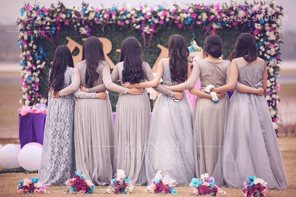 Bridesmaid Bridal shower collection